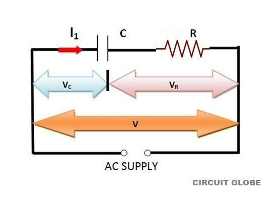 circuit diagram of RC Series circuit