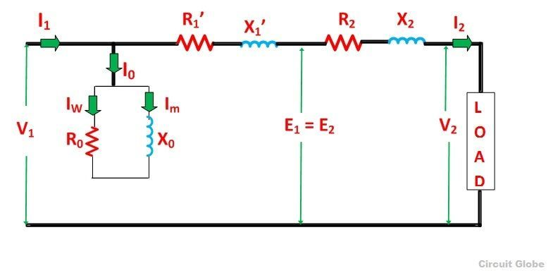 EQUIVALENT CIRCUIT REFERRED TO SECONDARY SIDE