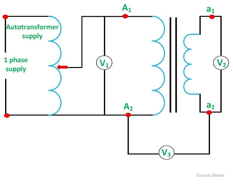 polarity test of transformer its circuit diagram. Black Bedroom Furniture Sets. Home Design Ideas