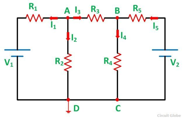 What is nodal voltage analysis method circuit globe steps for solving network by nodal voltage analysis method ccuart Choice Image