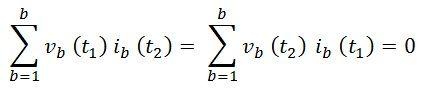 tellegen's theorem eq12