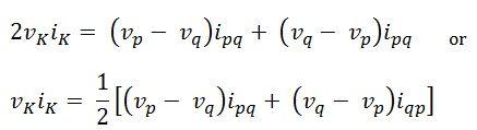 tellegen's theorem eq7