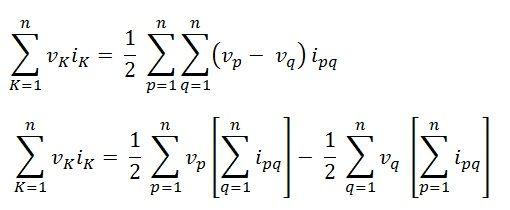 tellegen's theorem eq8