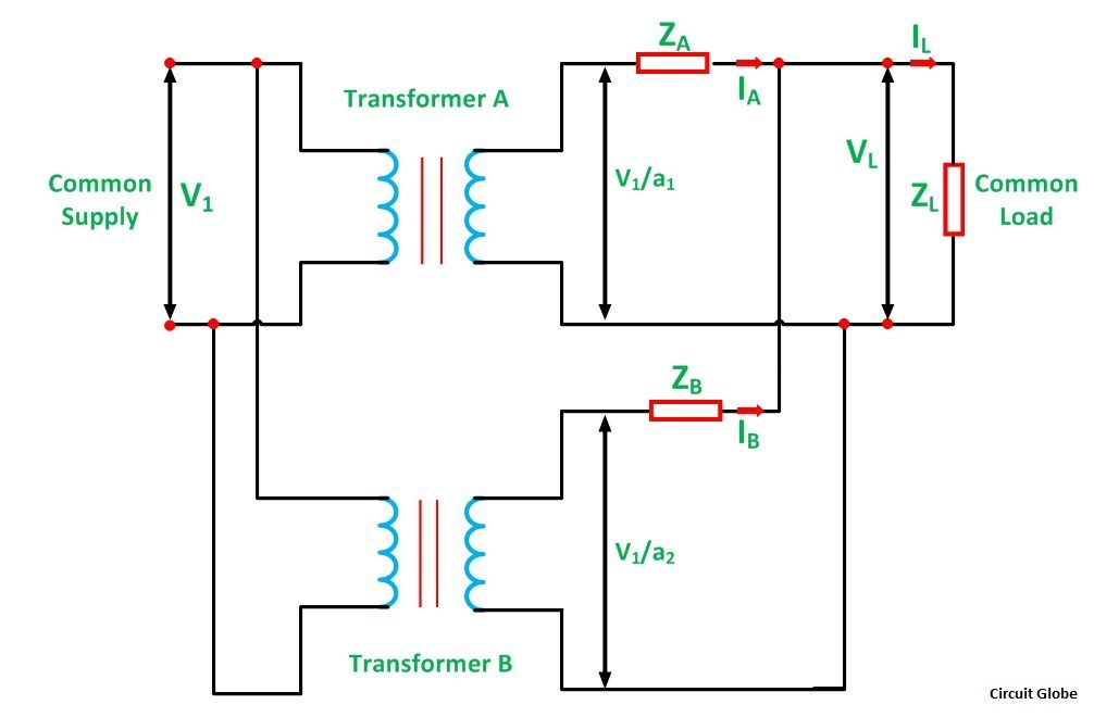PARALLEL-OPERATION-OF-1-PHASE-TRANSFORMER-FIGURE