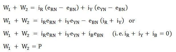 two-wattmeter-method-eq7