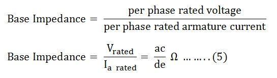 short circuit ratio of a synchronous machine its significanceshort circuit ratio of synchronous machine eq 5
