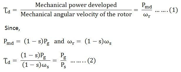 Torque equation of an induction motor starting torque How to measure torque of a motor