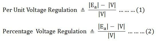 voltage-regulation-of-synchronous-generator-eq-1