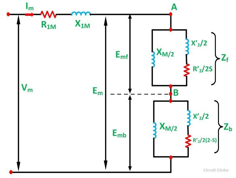 Equivalent Circuit Of A Single Phase Induction Motor on split phase motor