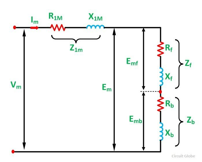 Single Phase Motor Circuit Diagram | Equivalent Circuit Of A Single Phase Induction Motor Circuit Globe