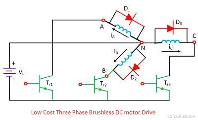 low-cost-three-phase-brushless-dc-motor-drive