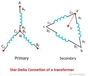 ar-delta-connection-of-a-transformer