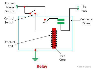 what is a relay? definition, working principle and Freightliner Tail Light Diagram