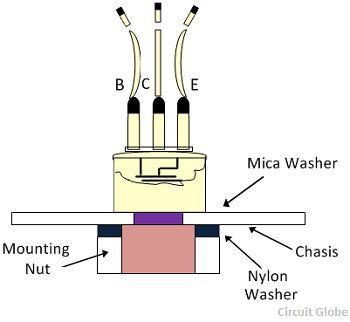 mounting-of-transistor