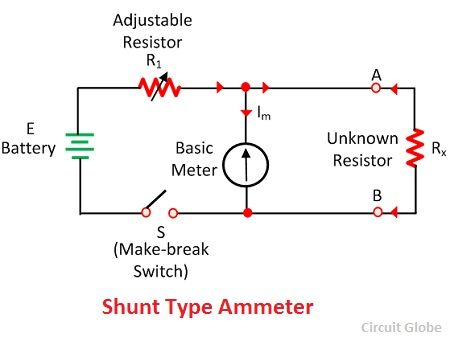 Ohm Meter Schematic on