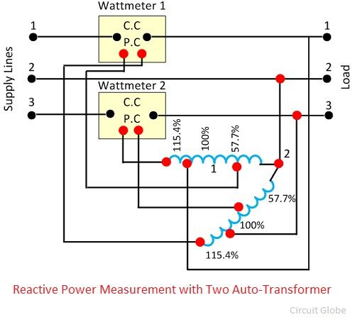 reactive-power-measurement-with-two-auto-transformer