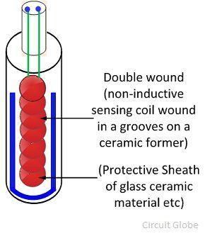 platinum-thermal-resistance-glass-tube
