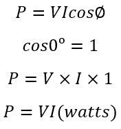 reistive-power-equations